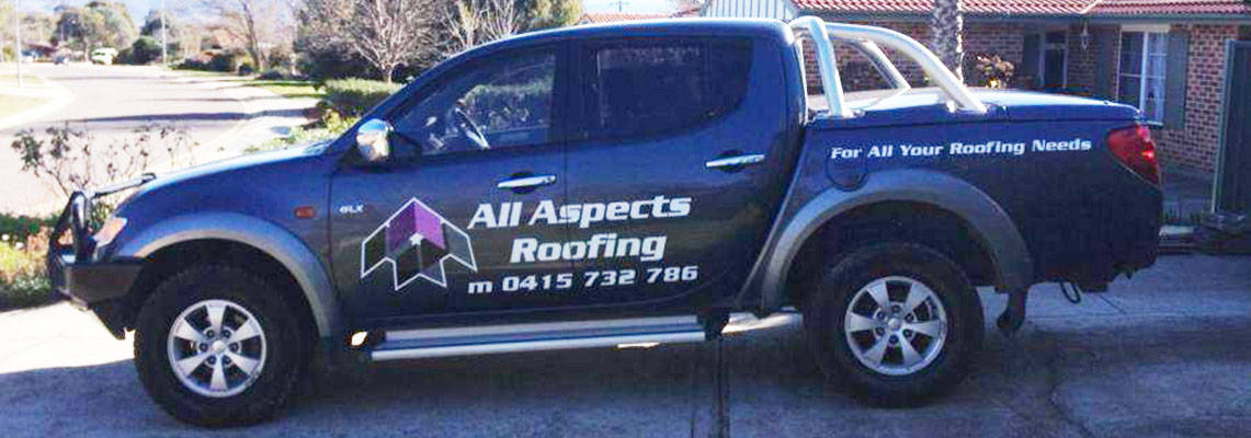 All Aspects Roofing Work Ute