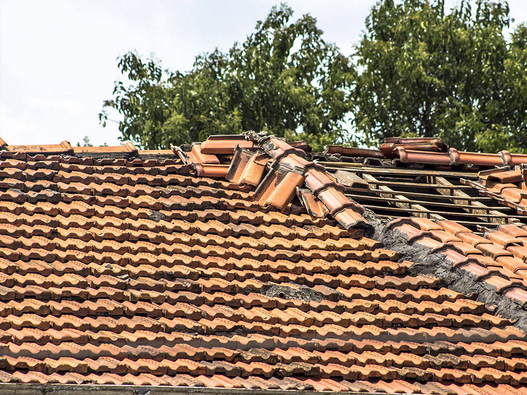 Before - Roof Repairs in Canberra